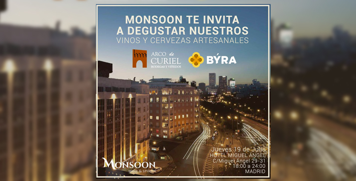 Cartel Arco de Curiel - Monsoon