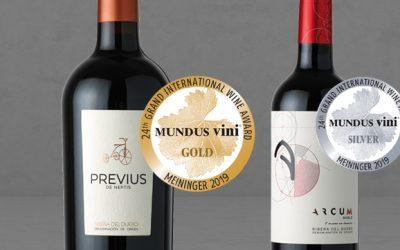 · Dos Medallas en Mundus Vini 2019