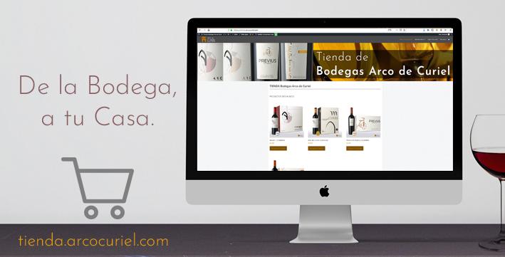 Tienda Online de Bodegas Arco de Curiel.